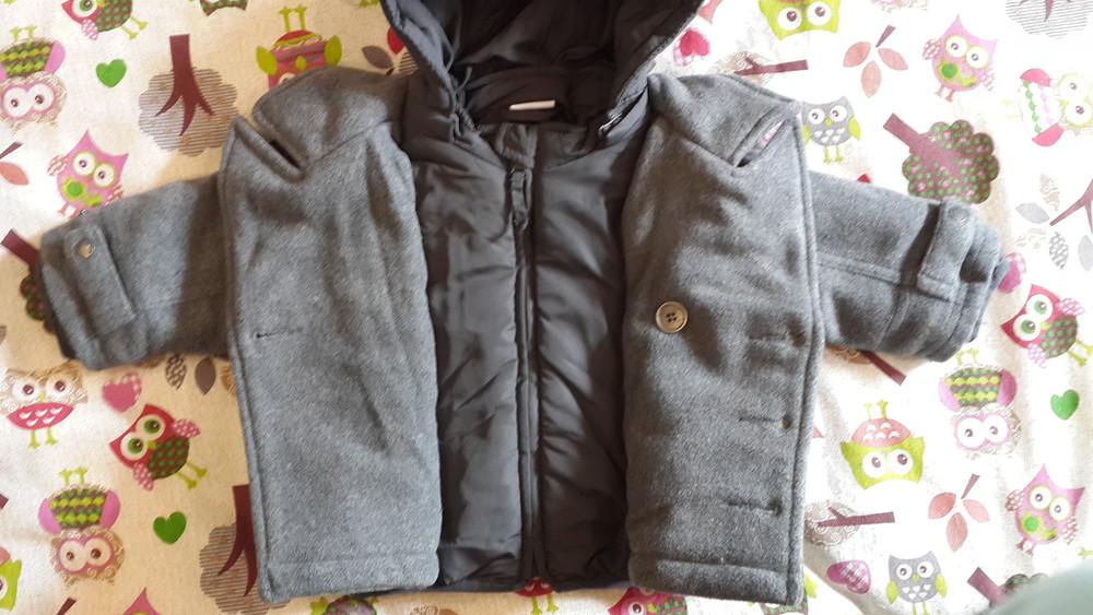 Теплая куртка prenatal, 3-6 мес (59-65 см) фото №6