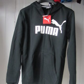 Утепленная Кофта Puma ess large logo hooded Sweat Jacket Оригинал
