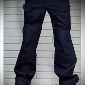 Джинсовые тактические брюки