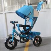 Детский трехколесный велосипед Tilly Trike T-364 синий