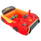 Игровой центр Машина Hot Wheels с 25 шариками , Bestway 93404