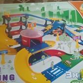 Игровой набор Гараж с дорогой 9. 1 м kid cars 3D Wader