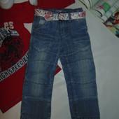 Модные джинсы Оkay на 3 года,рост 98 см.Мега выбор обуви и одежды!