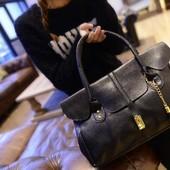 Модная женская сумка. Черный
