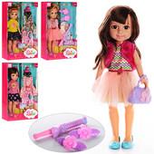 Кукла с сумочкой и плойкой