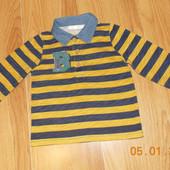 Стильный реглан M&Co для мальчика 2-3 года, 92-98 см