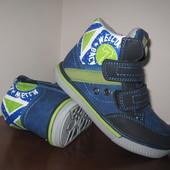 Ботинки демисезонные Clibee на мальчика арт. Р-104 р. 21-26 кроссовки, туфли, клиби