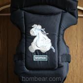 Рюкзак кенгуру переноска Womar Butterfly 14 excluzive черный (оригинал)