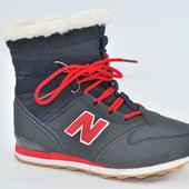 New balance зимние кроссовки подростковые