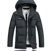 Цену снижено! Мужская зимняя куртка. Тёплый пуховик, XL, новая