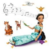 Музыкальная Кукла Жасмин с аксессуарами Дисней 28 см