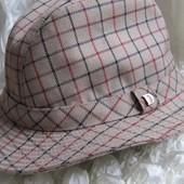 Шляпа винтаж трилби trilby Dannimak 56 см