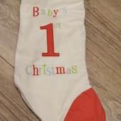Рождественский носочек для подарков