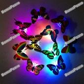 Бабочки на светодиодах