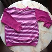 Махровый свитер на девочку фирмы Оkay размер 128 см (примерно на 8-10 лет)
