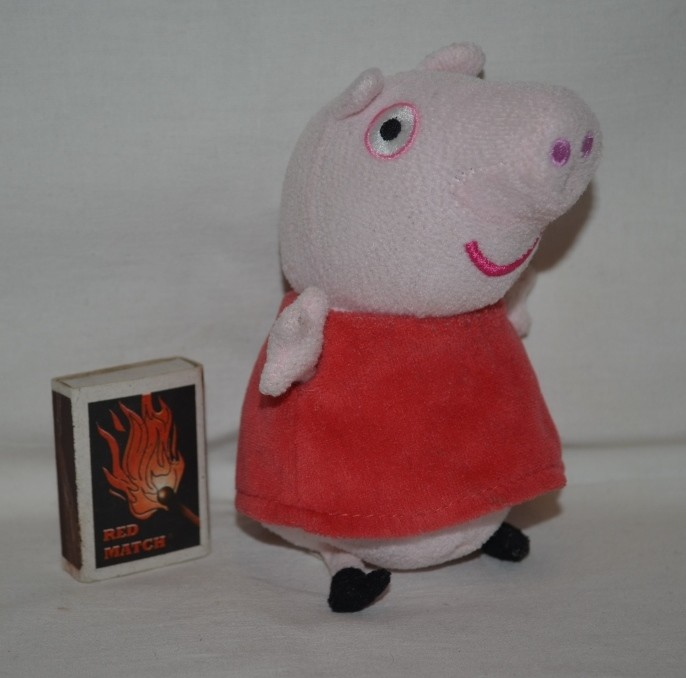Peppa pig свинка пеппа мягкая оригинал фото №1