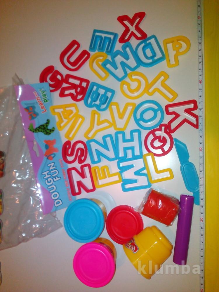 Тесто для лепки набор для творчества выдавливалка пластилин фото №1