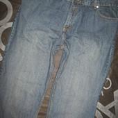 Большие джинсы от George Bootcut размер W44 L32, пояс 114-116 см.