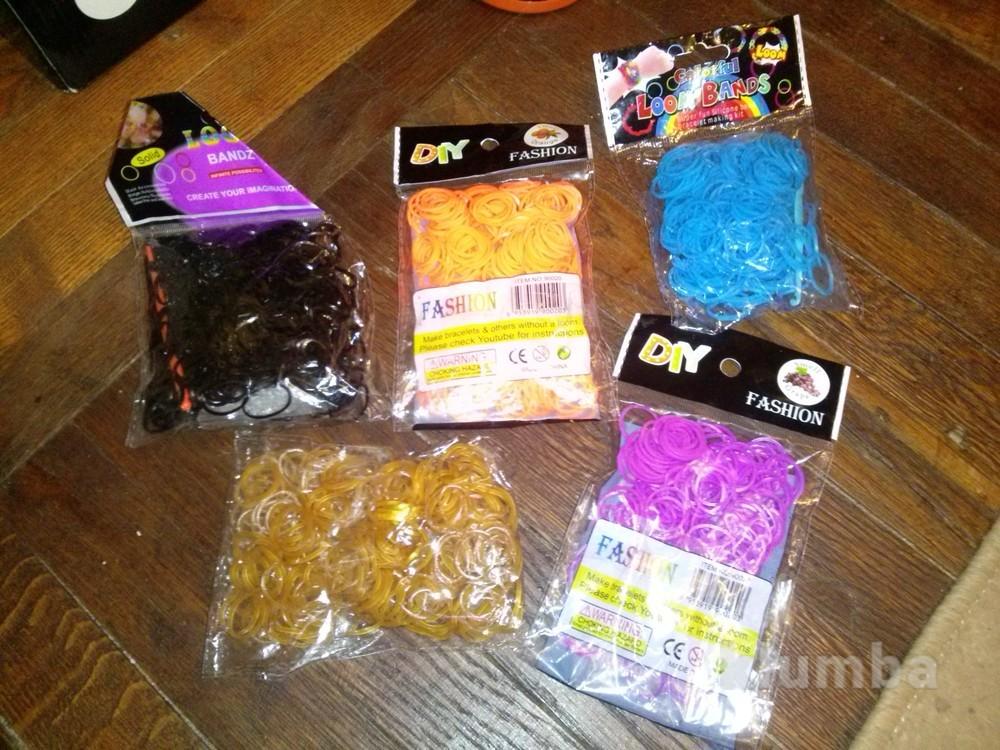 Резинки для плетения браслетов фото №1