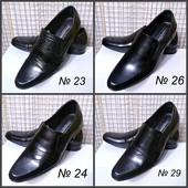 Классические туфли из натур кожи в ассортименте