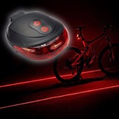 Задний лазерный стоп сигнал на велосипед