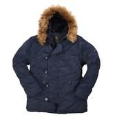 Зимняя мужская куртка аляска alpha industries n-3b parka (сша)
