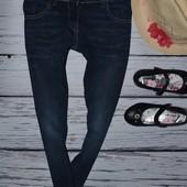 8 лет 128 см Фирменные джинсы скинни узкачи для моднявок джеггинсы