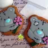 Тедди, как лучший подарок любимой половинке)))