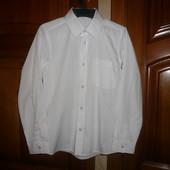 Рубашка белая TU Тию 9 лет 134 см