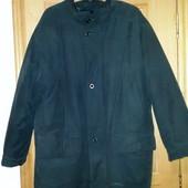 Мужская куртка с подстежкой на теплую зиму, осень или весну. 56 размер
