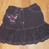 Красивая юбка Ladybird для девочки 4-5 лет, 104-110 см