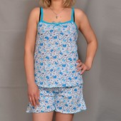 Женская хлопковая пижама 44 до 58