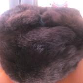 Шапка-ушанка мужская кролик ОГ 56