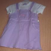 Распродажа - платье на рост 62 см. от Benetton