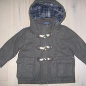 Пальто Nutmeg на 1.5 - 2 р. ріст 86 - 92 см. шерсть