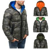 зимняя куртка в стиле милитари мужская