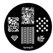 Диски для стемпинга серии Spring