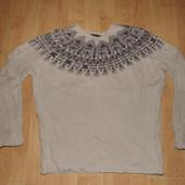 Стильный мужской свитер Zara man р.L
