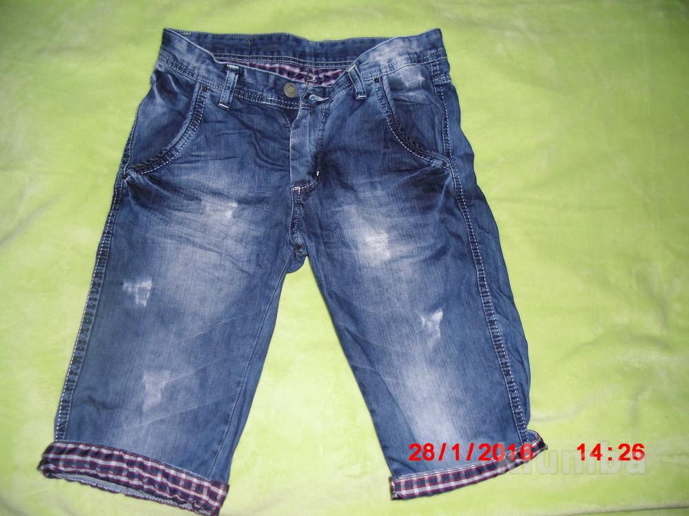 Продам мужские бриджы джинс фото №1