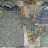 фирменная куртка-пальто на мальчика