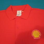 """Футболка мужская """"Shell"""" в состоянии новой, Размер l и xl. Лот - 1шт, Уп 10"""