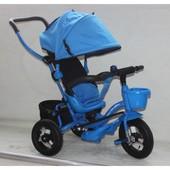 Велосипед 3-х колес At0101, голубой