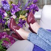 Туфли кожа замша Каблук 6,8 или 9 см Возможны разные цвета