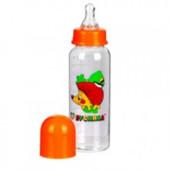 Бутылочка для кормления 250 мл с крышкой