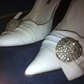 Туфли белые  Shy  р.40
