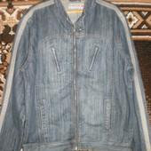 Очень стильная мужская джинсовая курточка