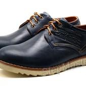 Туфли мужские спортивные Levi´s Desert синие