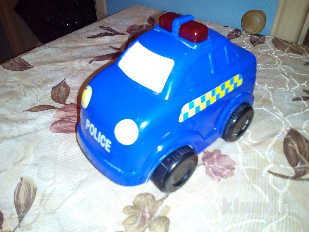 Инерционная полицейская машинка фото №1