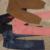 Джинсы,  штаны  Primark, Next, Rebel, Zara boys 5-6 лет, рост-110-116 см.