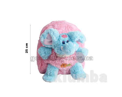 Рюкзак со слоном 25 см фото №1